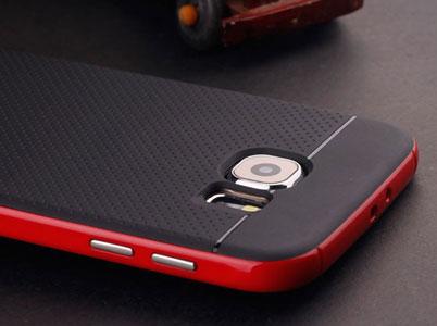پوشش برجسته فلزی قاب روی کلیدهای گلکسی اس6