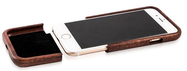 قاب چوبی دو تکه iphone 7