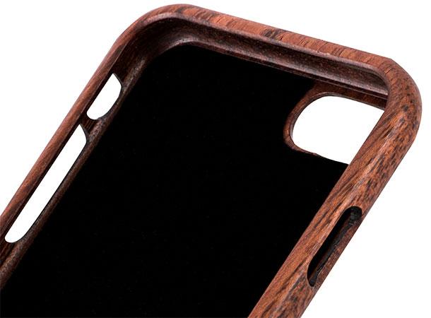 قاب محافظ چوبی طرحدار آیفون 7