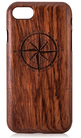 قاب چوبی آیفون 7