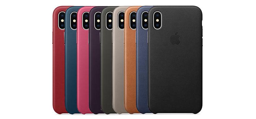 قاب محافظ چرمی اپل iPhone X