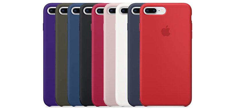 قاب محافظ سیلیکونی اپل iPhone 8 Plus