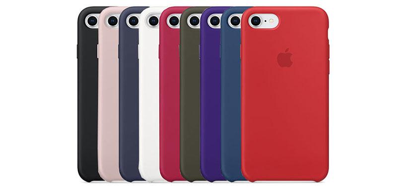 قاب محافظ سیلیکونی اپل iPhone 8