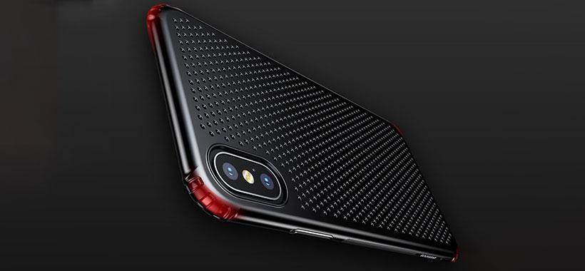 زاویه های ضربه گیر قاب بیسوس iPhone X