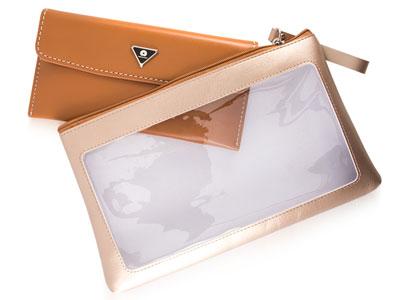 کیف بزرگتر با قسمت جلویی شفاف برای نگهداری از وسایل کاربران
