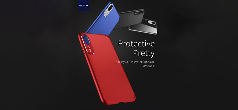 قاب محافظ راک آیفون X برای حفاظت از گوشی اپل