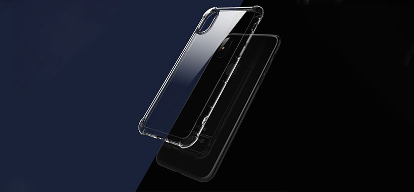 طراحی شفاف قاب راک برای نمایش زیبایی گوشی اپل