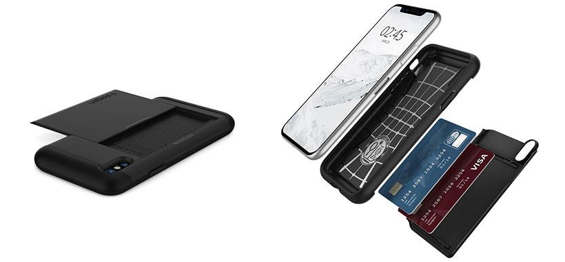 قاب کشویی اسپیگن iPhone X