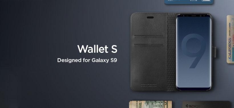 کیف محافظ اسپیگن سامسونگ Spigen Wallet S Case Samsung