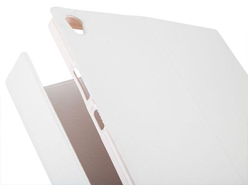 مگنت های تعبیه شده در درب کیف محافظ Tab3 8 Plus