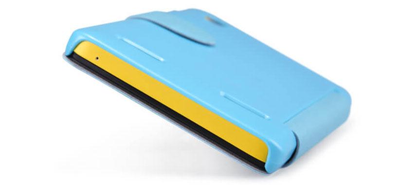 کیف محافظ نیلکین از بالا و پایین باز است