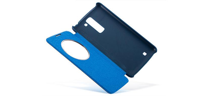 لمس نمایشگر گوشی K7 از روی درب کیف محافظ