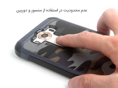 عدم محدودیت در استفاده از سنسور و دوربین LG V10