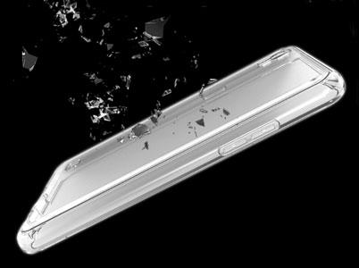 مقاومت بالای قاب ژلهای وویا LG X power در برابر ضربه