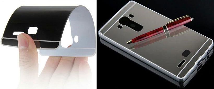 قاب محافظ آینه ای ال جی G4