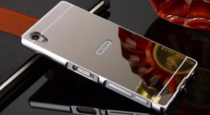 قاب محافظ آینه ای سونی اکسپریا Mirror Case Sony Xperia Z5 Premium