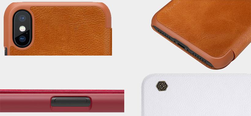 کیف چرمی نیلکین iPhone X