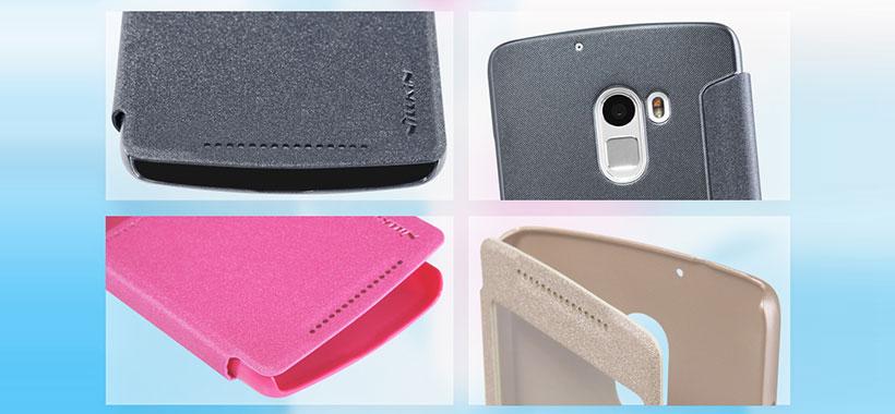 کیف نیلکین لنوو Nillkin Sparkle Case Lenovo Vibe K4 Note X3 Lite