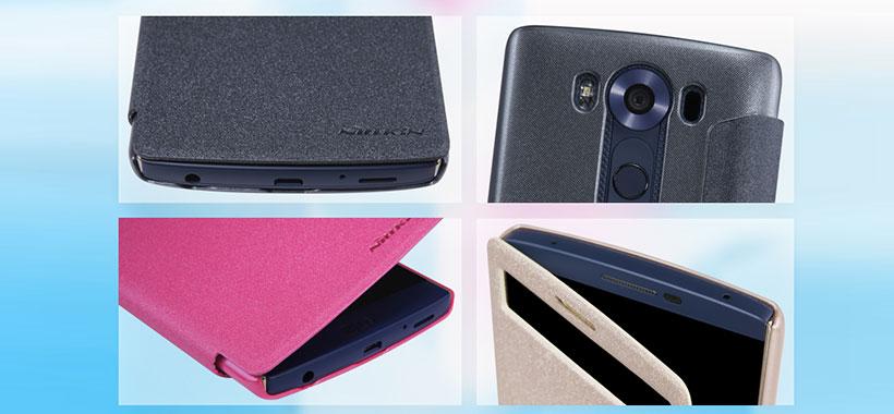 کیف نیلکین ال جی Nillkin Sparkle Case LG V10