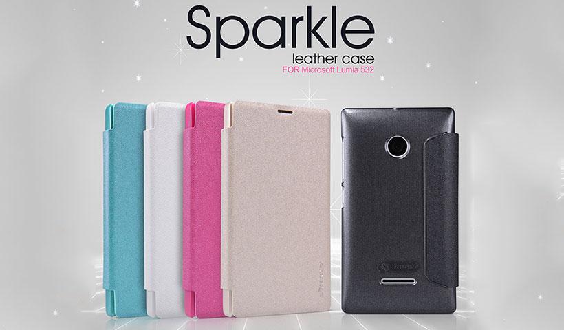 کیف نیلکین مایکروسافت Nillkin Sparkle Case Microsoft Lumia 532