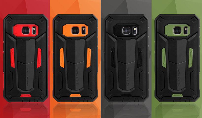 گارد محافظ نیلکین سامسونگ Defende II Samsung Galaxy S7