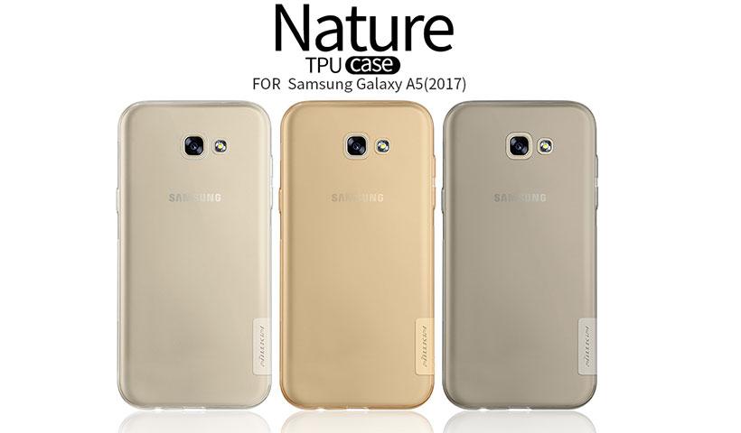 محافظ ژله ای نیلکین مدل Nature برای گوشی Samsung Galaxy A5 2017