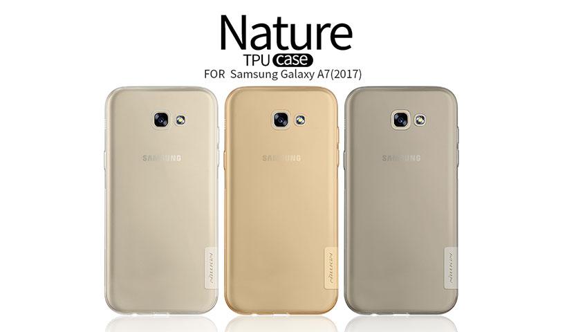 محافظ ژله ای نیلکین مدل Nature برای گوشی Samsung Galaxy A7 2017