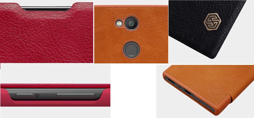 کیف چرمی نیلکین مدل Qin گوشی سونی اکسپریا L2
