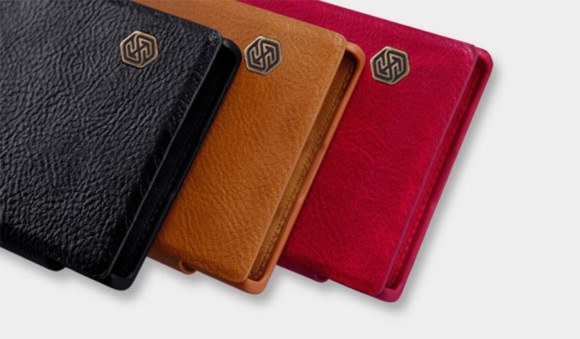 کیف چرمی نیلکین Qin سونی اکسپریا XA2 Ultra