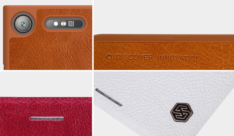 کیف چرمی نیلکین مدل Qin گوشی سونی اکسپریا XZ1