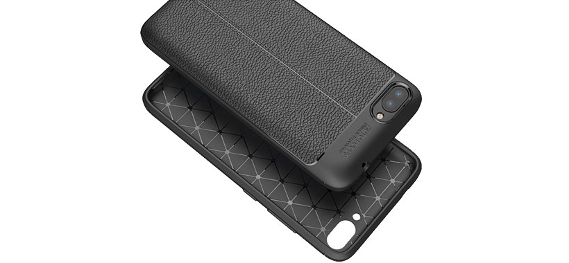 قاب ژله ای طرح چرم ایسوس Zenfone 4 Max ZC554KL