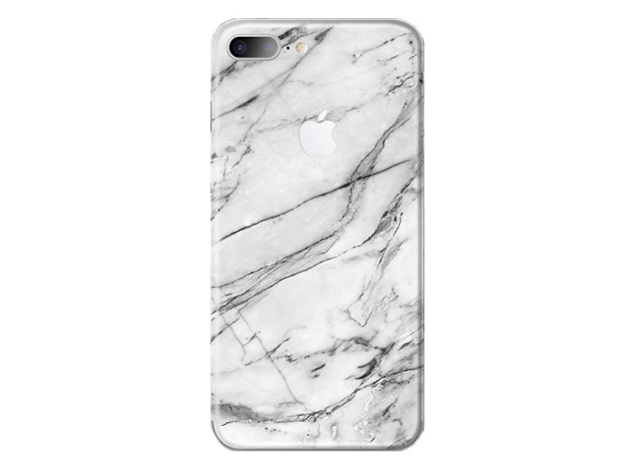 برچسب محافظ طرح دار راک آیفون Rock White Marble Creative Protector Apple iPhone 7 Plus