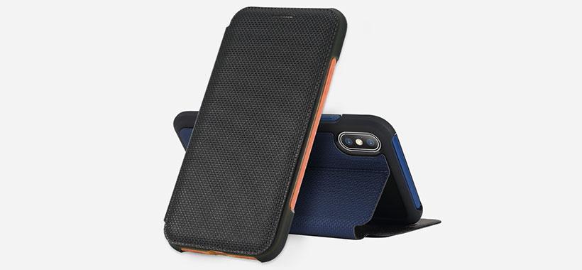 کیف محافظ راک آیفن x قابل استفاده روی هولدر خودرو