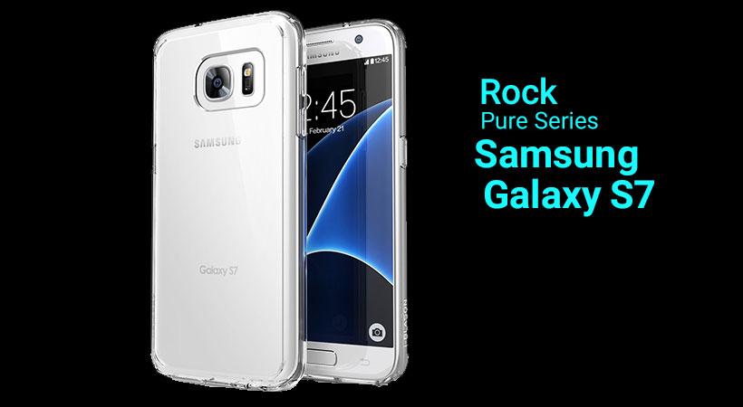 قاب محافظ راک سامسونگ گلکسی Rock Pure Series Case Samsung Galaxy S7