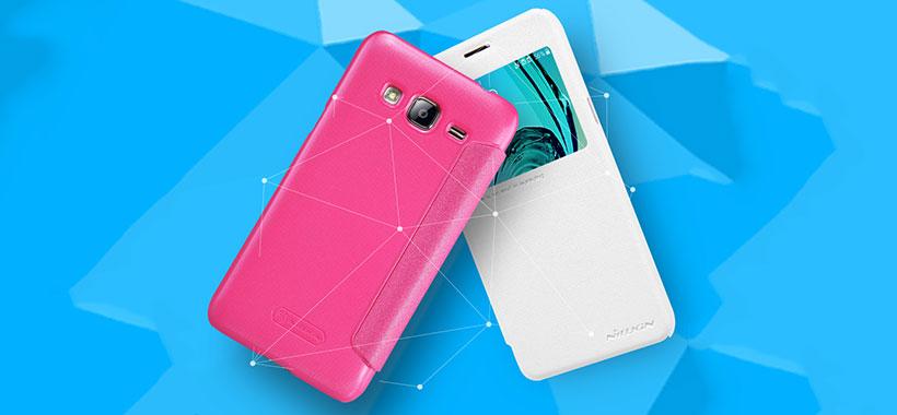کیف نیلکین سامسونگ Nillkin Sparkle Case Samsung Galaxy J3