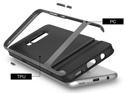 قاب گوشی سامسونگ از مواد PC و TPU تولید شده است