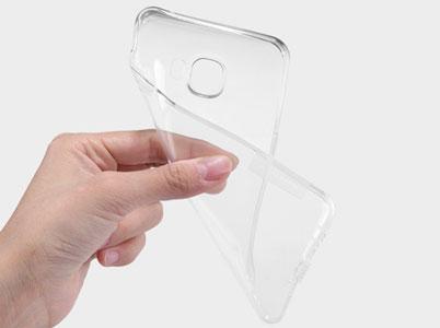 کاور ژله ای شفاف سامسونگ Galaxy C7 Pro