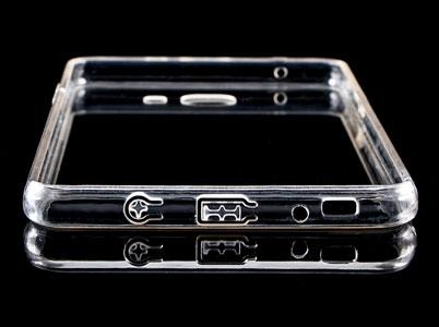 کاور محافظ شیشه ای - ژله ای سامسونگ C9 Pro