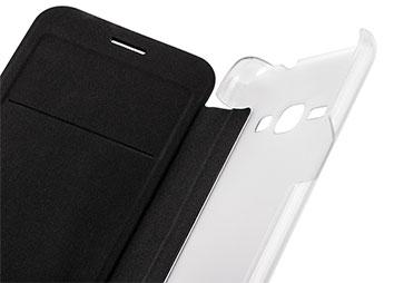کیف چرمی سامسونگ Samsung Galaxy J1 2016 Flip Cover
