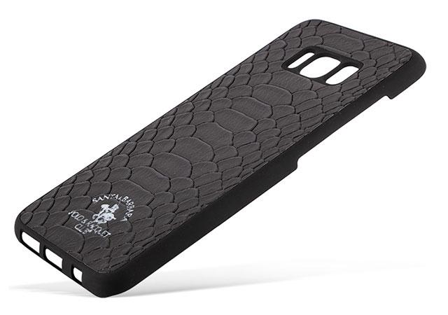 قاب محافظ چرمی سامسونگ Santa Barbara Case Samsung Galaxy S8