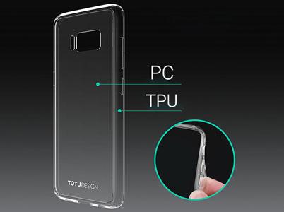 کاور توتو از PC و TPU ساخته شده است