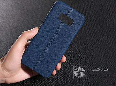 محافظ با روکش چرمی ویژه سامسونگ Galaxy S8 Plus