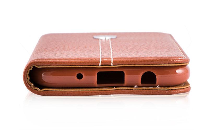 کیف محافظ چرمی سامسونگ J7 Pro