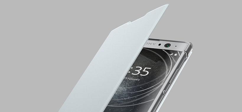 امکان خاموش و روشن شدن خودکار نمایشگر  Sony XA2 Ultra