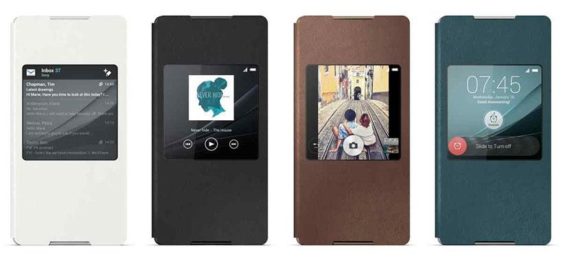 کیف اصلی سونی Xperia Z3 Plus