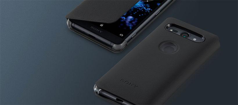 قاب محافظ اصلی سونی Style Cover Stand Sony Xperia XZ2 Compact