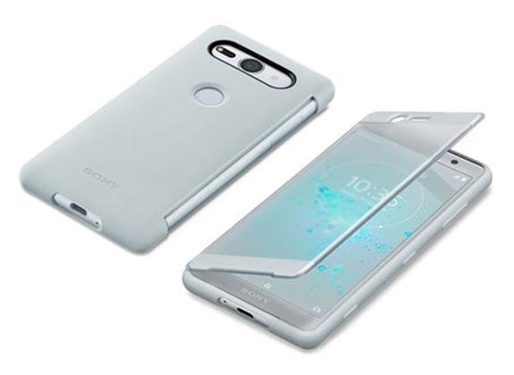 قاب محافظ اصلی سونی Style Cover Touch Sony Xperia XZ2 Compact