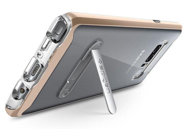 قاب محافظ اسپیگن سامسونگ Spigen Crystal Hybrid Case Samsung Galaxy Note 8
