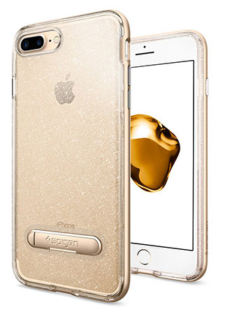 قاب محافظ اسپیگن آیفون Spigen Crystal Hybrid Glitter Case Apple iPhone 7 Plus