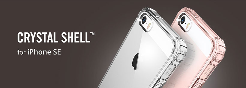 Spigen Crystal Shell Case iPhone SE/5/5s